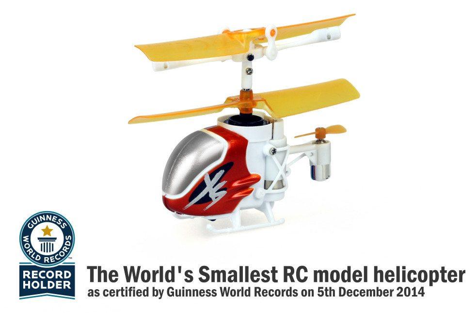 The Guiness World Record Certified Nano Falcon XS