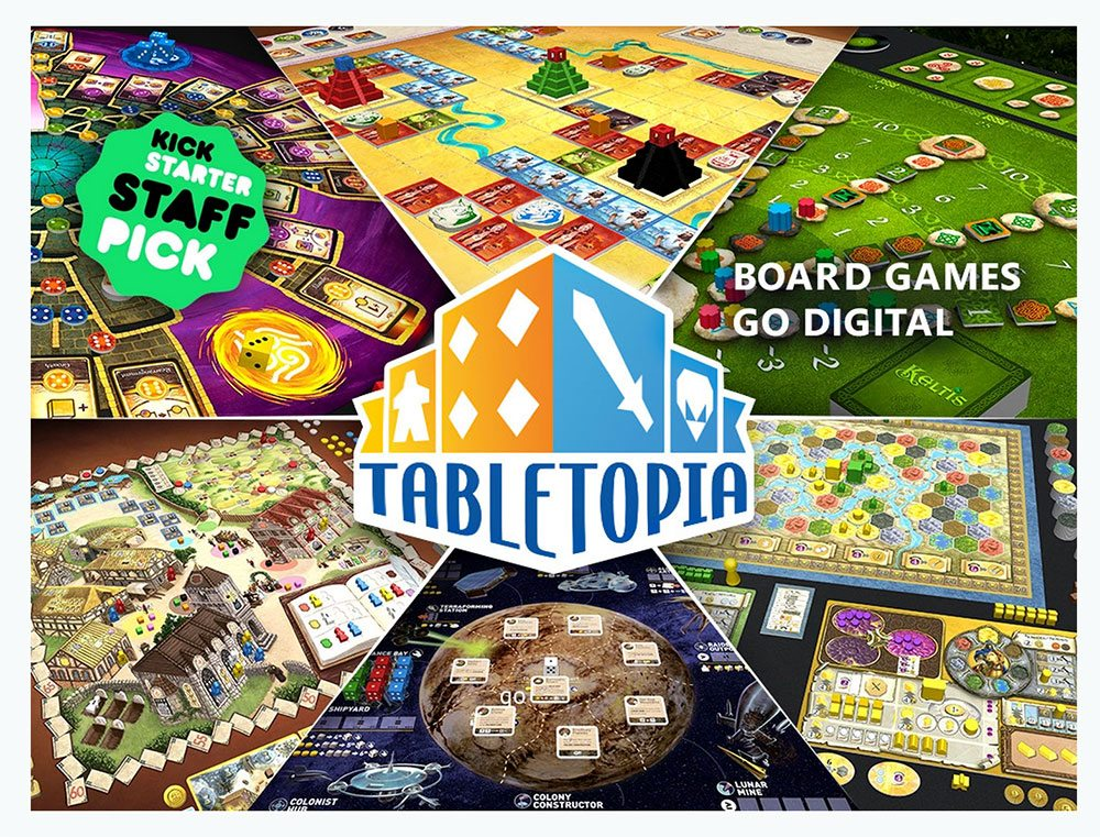 Kickstarter Alert: Play Board Games Online with Tabletopia