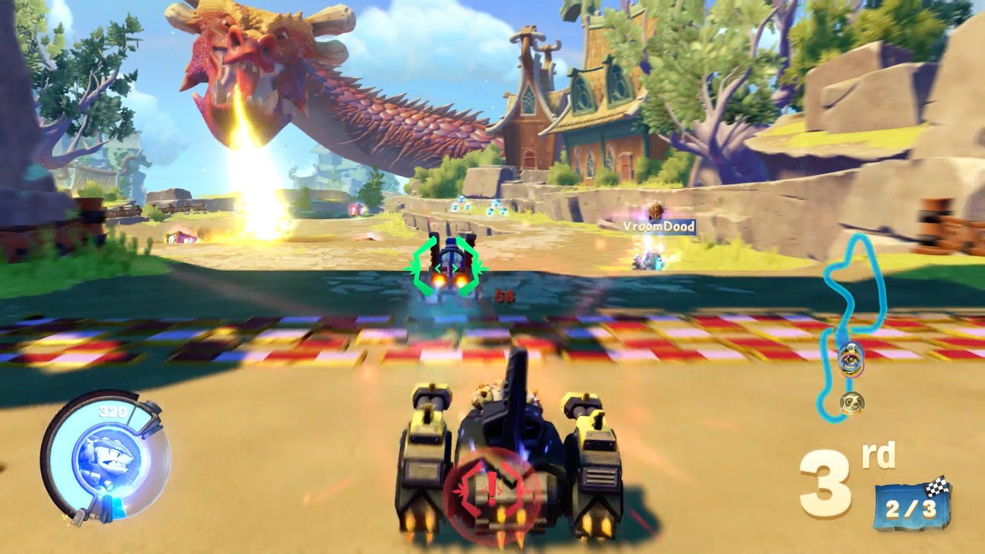 'Skylanders SuperChargers' Go Racing Online