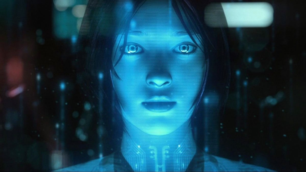 Cortana from the Halo video game franchise