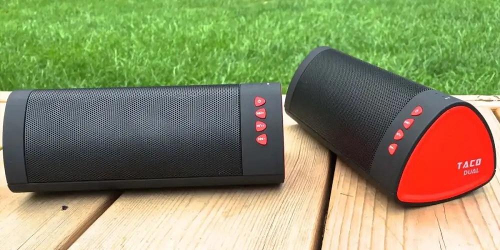 ideaUSA Taco Dual Bluetoothspeaker