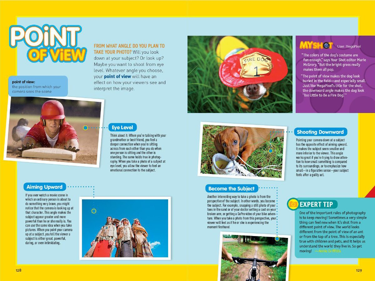 Book Review: National Geographic Kids: Guide to Photography Pages
