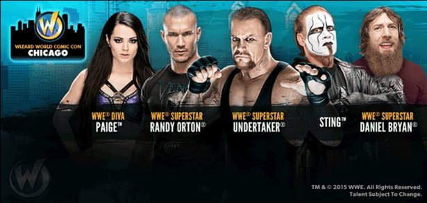 WWE Guests to Wizard World Chicago