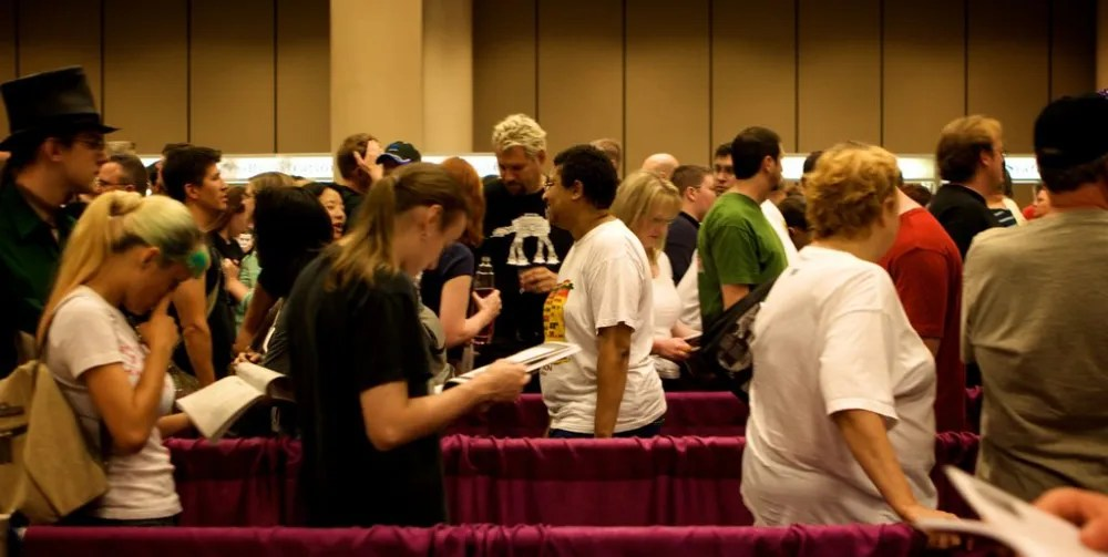 Lines at Dragon Con