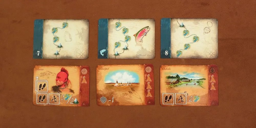 Discoveries and Tribe cards