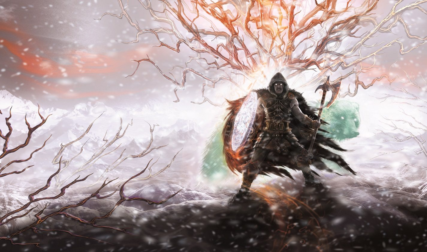 Eye of Winter's Fury cover spread
