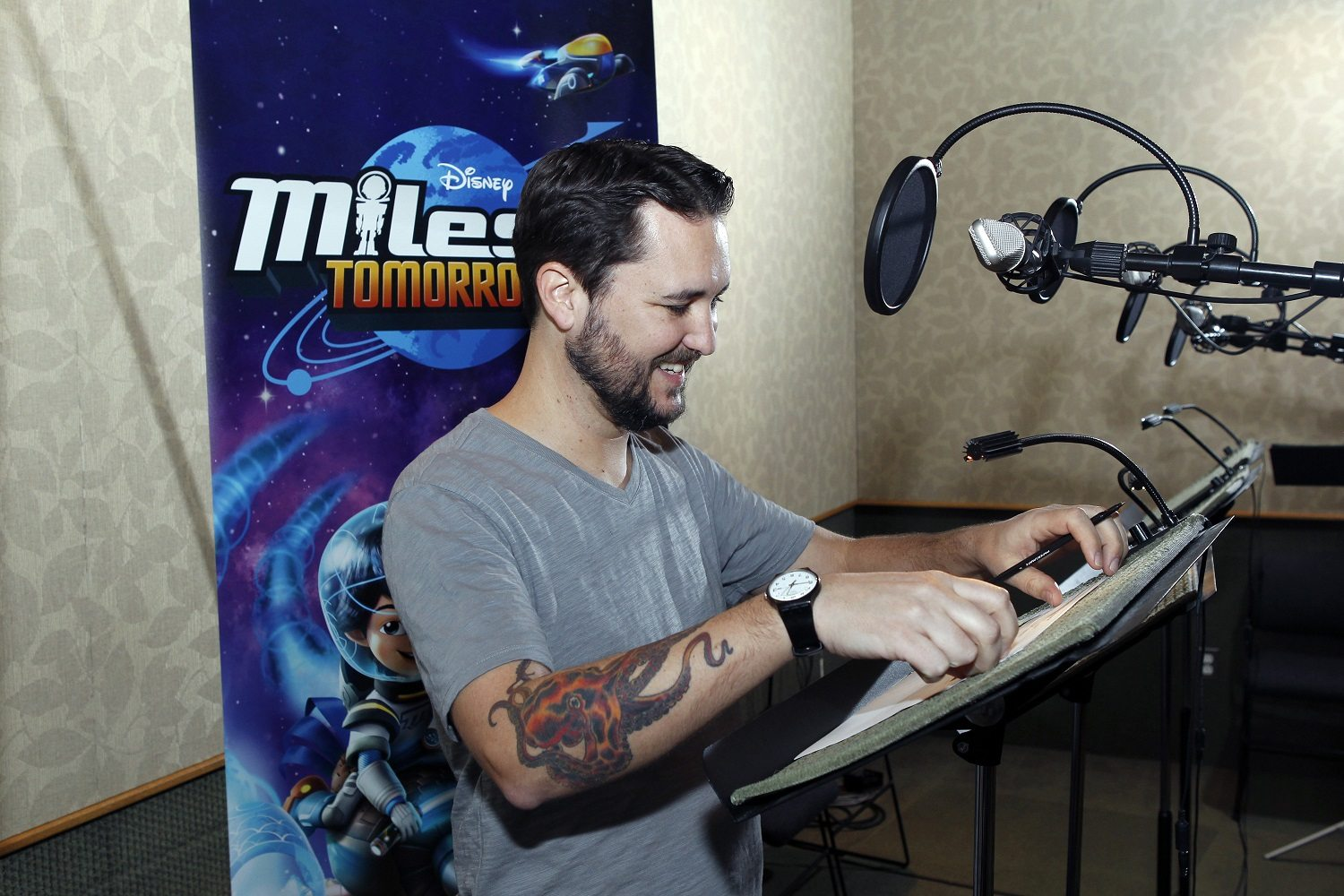 Wil Wheaton Tries to Take Over Pluto!