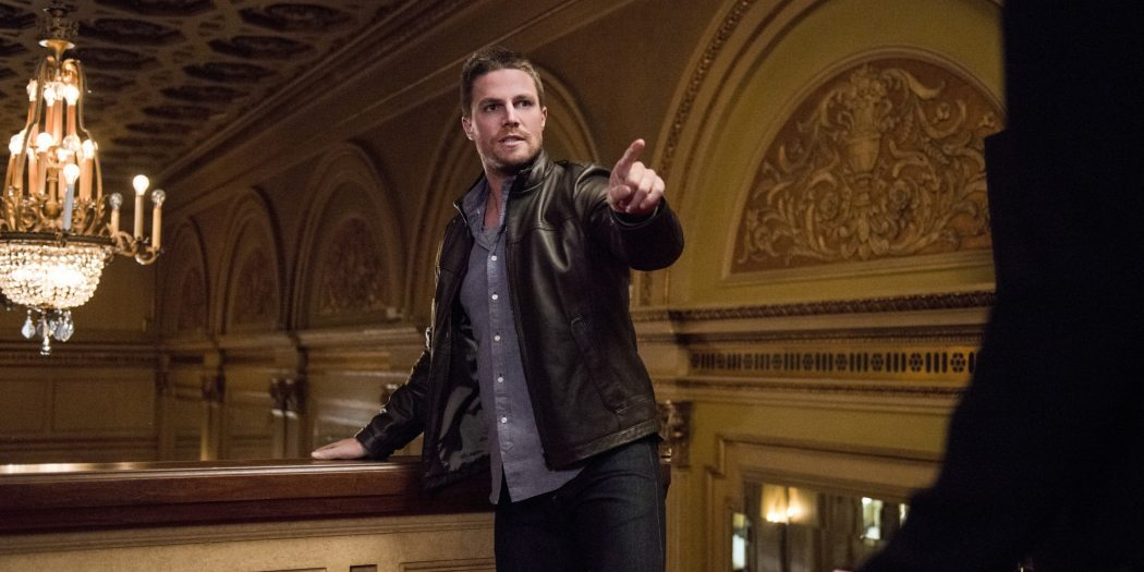 """Arrow -- """"The Candidate"""" -- Image ARR402B_0309b -- Pictured: Stephen Amell as Oliver Queen -- Photo: Cate Cameron /The CW -- �© 2015 The CW Network, LLC. All Rights Reserved."""