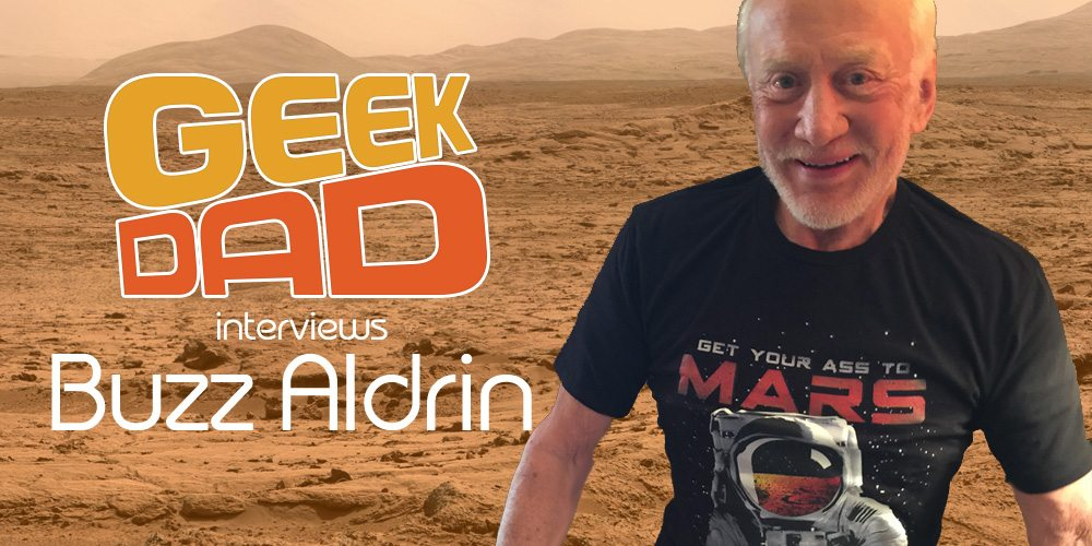 GeekDad Interviews Buzz Aldrin