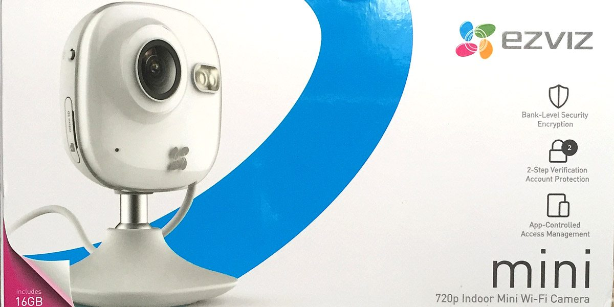 Review: EZViz Mini Wi-Fi camera - GeekDad