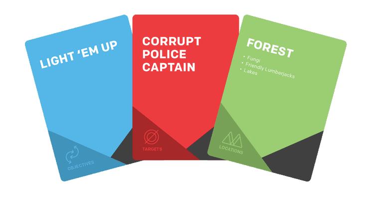 Mission Card Samples