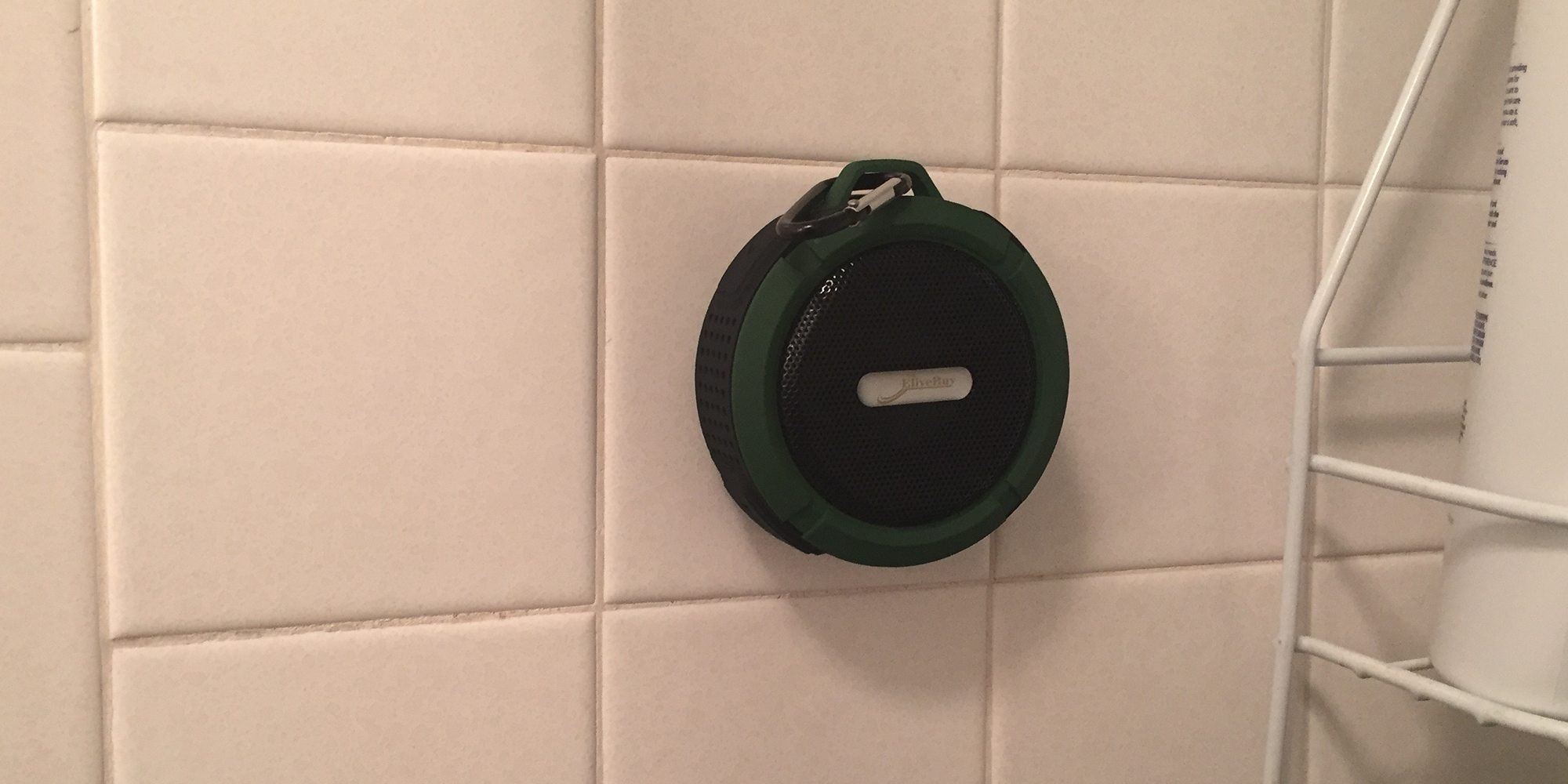 Elivebuy Portable Waterproof Bluetooth Speaker Brings the Jams to Shower Time