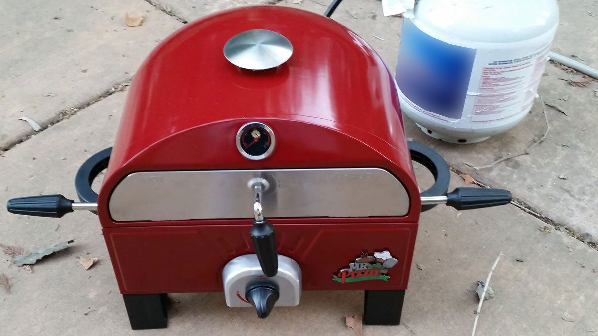Make Great Pizza at Home With a Mr. Pizza Pizza Grill