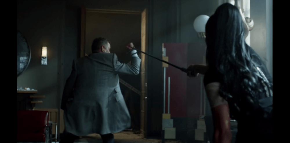 Possibly my favorite scene from Gotham ever (Image via FOX)