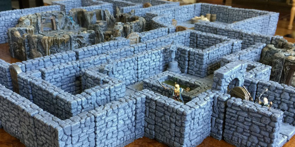 Dungeon Casting Part 3: Making Modular Pieces