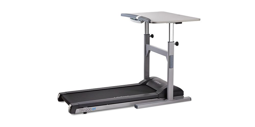 GeekDad Gets Hands-On (and Feet-On) With a LifeSpan Treadmill Desk