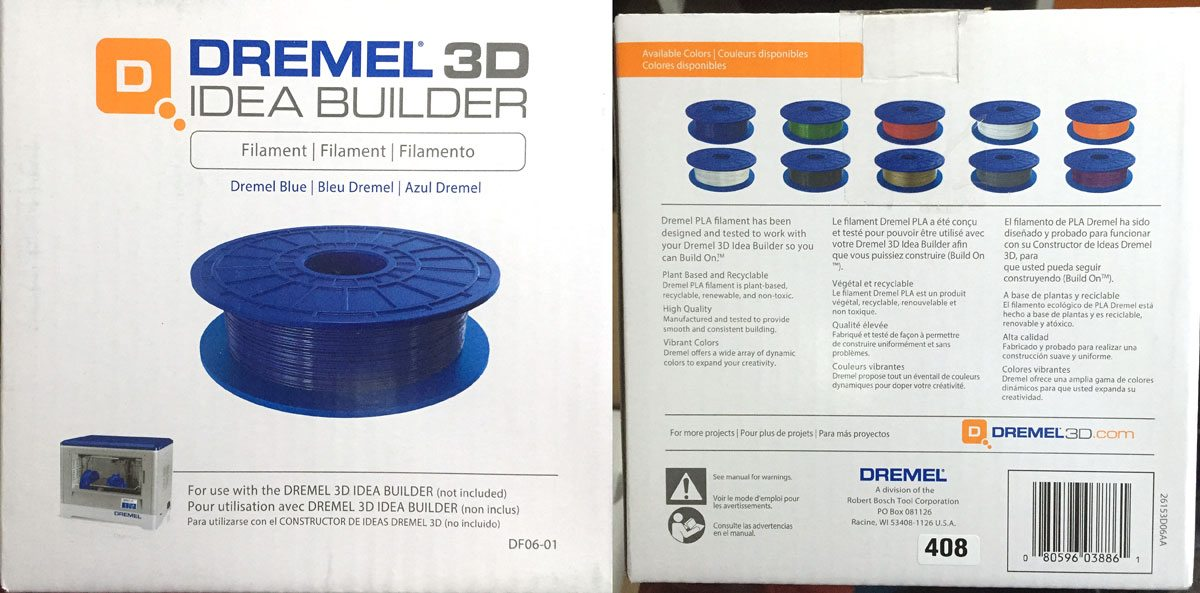 Dremel3D-Filament