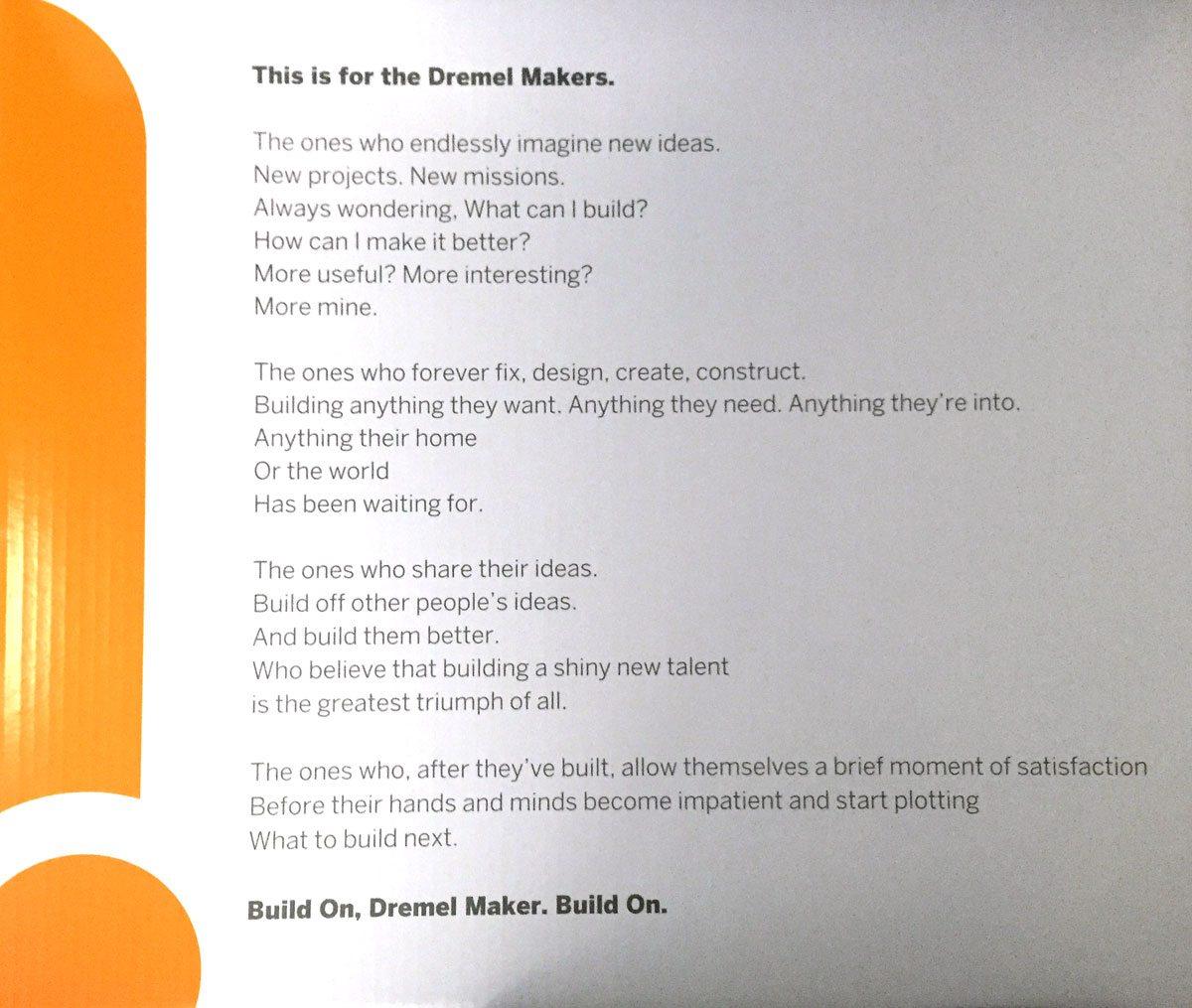 Dremel3D-Ode