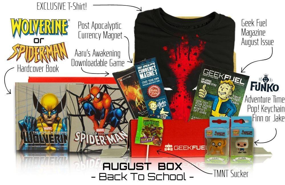 GeekFuel August Box