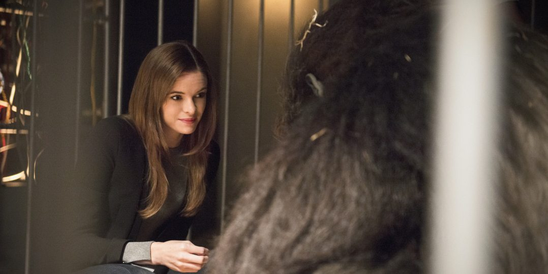 """The Flash -- """"Gorilla Warfare"""" -- Image FLA207B_0006b.jpg -- Pictured: Danielle Panabaker as Caitlin Snow -- Photo: Cate Cameron/The CW -- �© 2015 The CW Network, LLC. All rights reserved."""