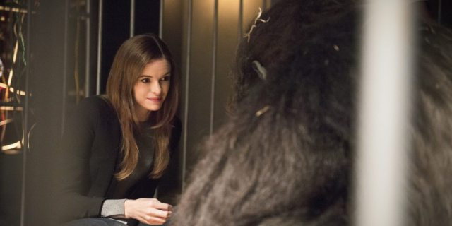 "The Flash -- ""Gorilla Warfare"" -- Image FLA207B_0006b.jpg -- Pictured: Danielle Panabaker as Caitlin Snow -- Photo: Cate Cameron/The CW -- �© 2015 The CW Network, LLC. All rights reserved."
