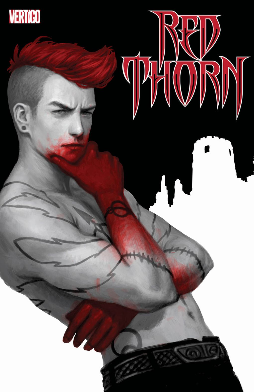 Red Thorn #1, image via Vertigo
