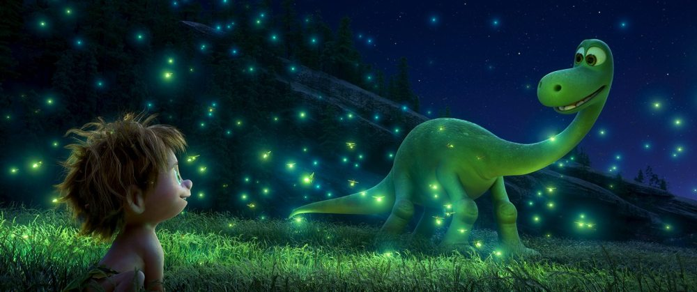 An Apatosaurus named Arlo makes an unlikely human friend in Disney•Pixar's