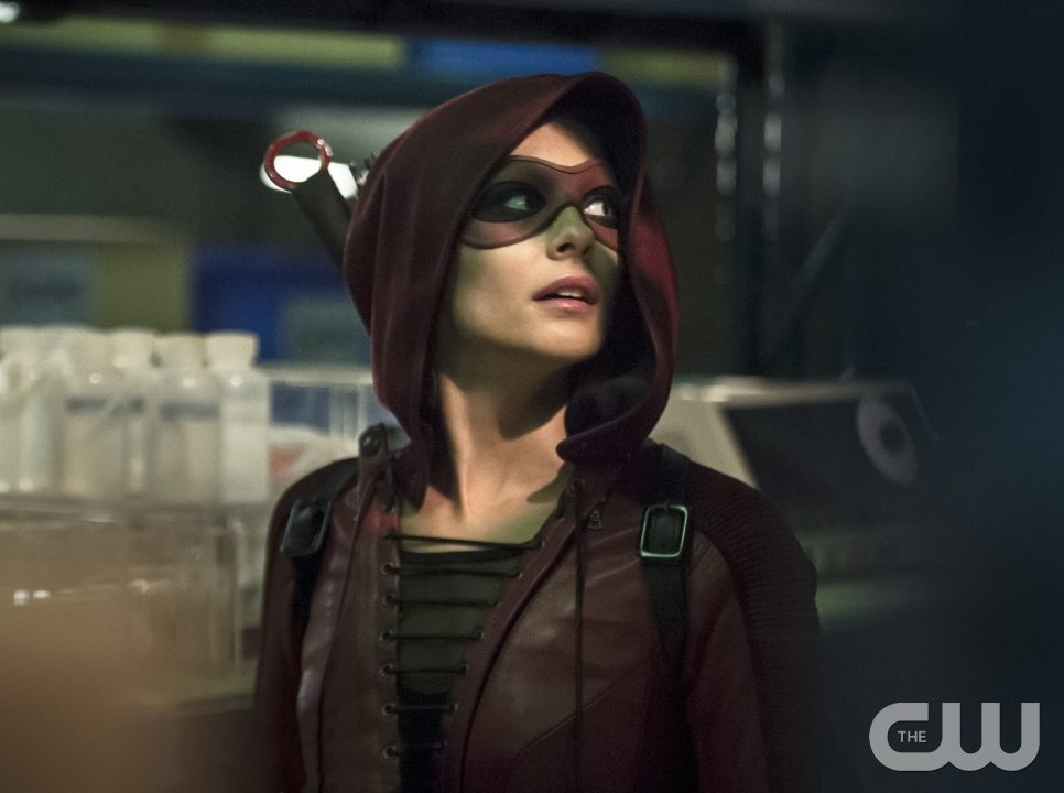 """Arrow -- """"Lost Souls"""" -- Image AR406B_0041b2.jpg -- Pictured: Willa Holland as Thea Queen -- Photo: Cate Cameron/ The CW -- �© 2015 The CW Network, LLC. All Rights Reserved."""