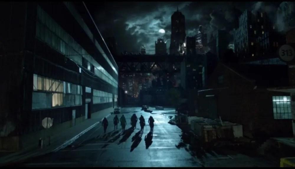 The Order of St. Dumas descends upon Gotham. (Image via FOX)