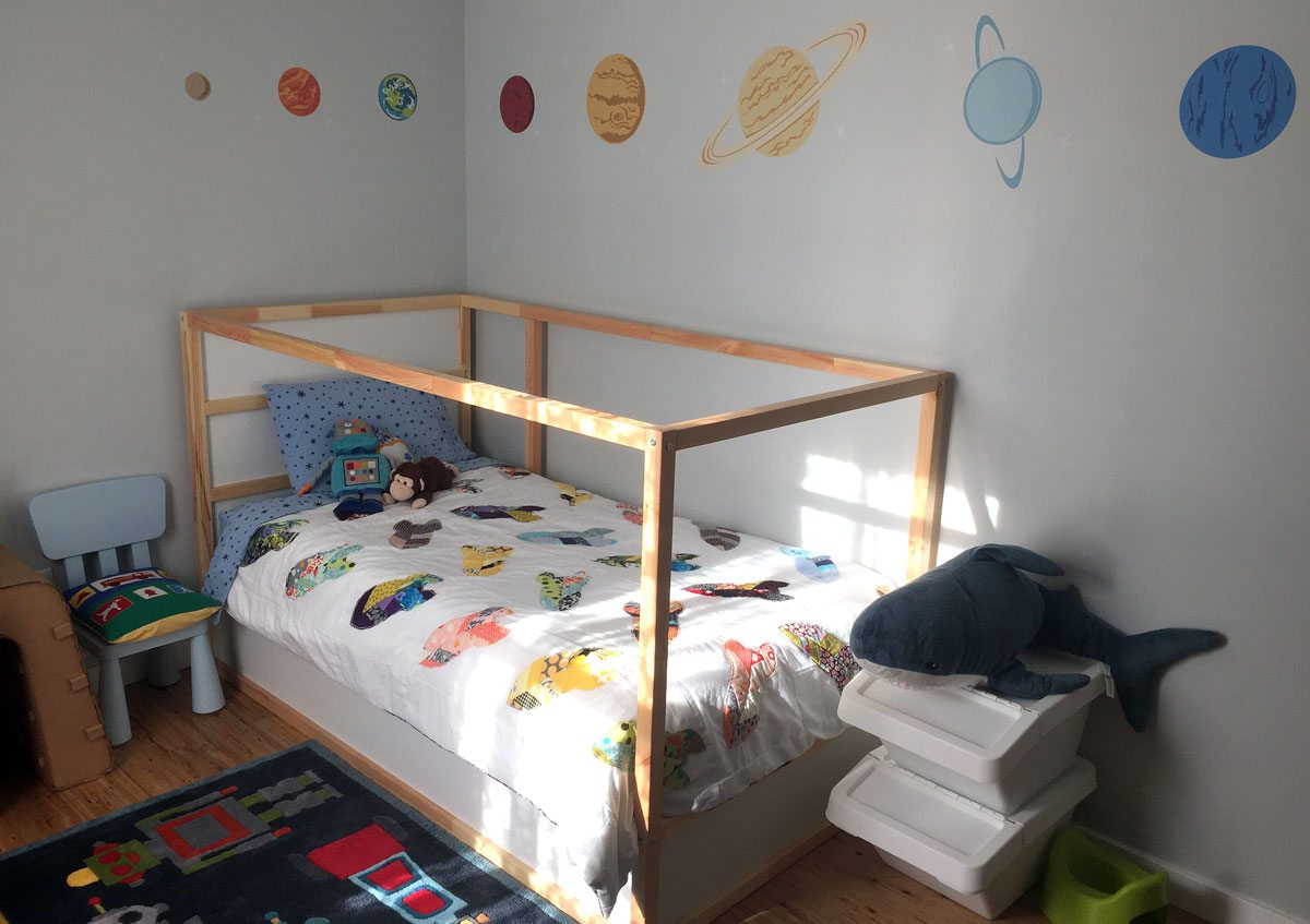 BigBoyRoom FinalBed Moving on Up From Nursery to