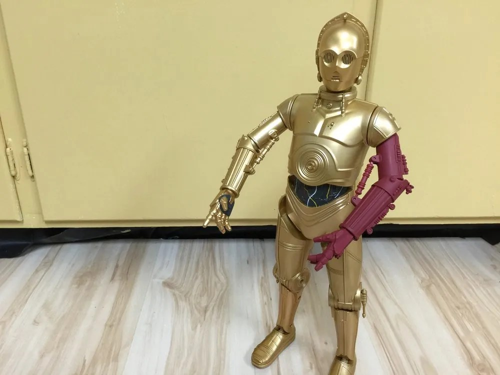 C-3PO Interactive Robotic Droid