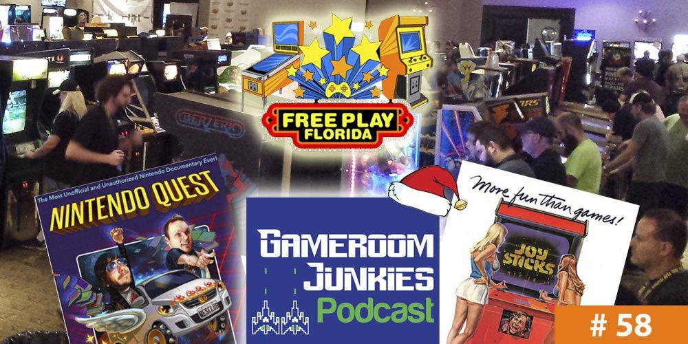 Gameroom Junkies Podcast #58