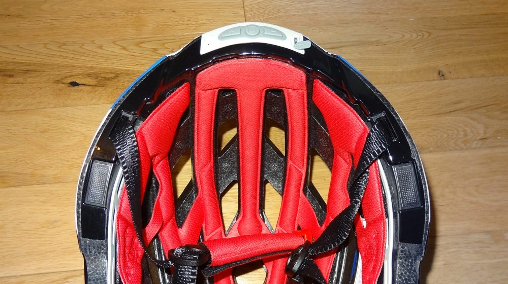 Livall helmet bottom