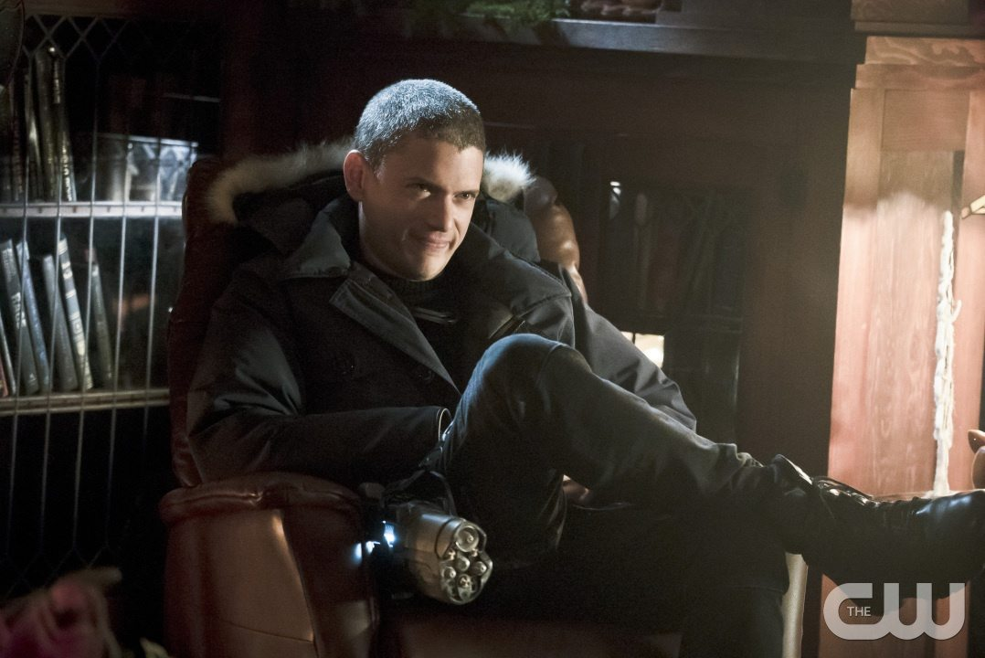 "The Flash -- ""Running to Stand Still"" -- Image: FLA209b_0021b.jpg -- Pictured: Wentworth Miller as Leonard Snart -- Photo: Katie Yu/The CW -- �© 2015 The CW Network, LLC. All rights reserved."