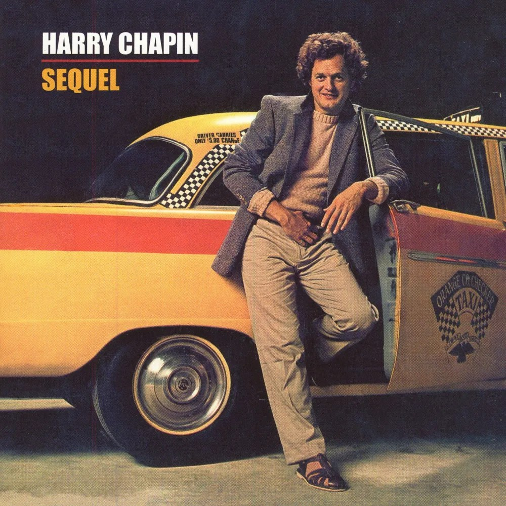 Harry Chapin album cover to Sequel