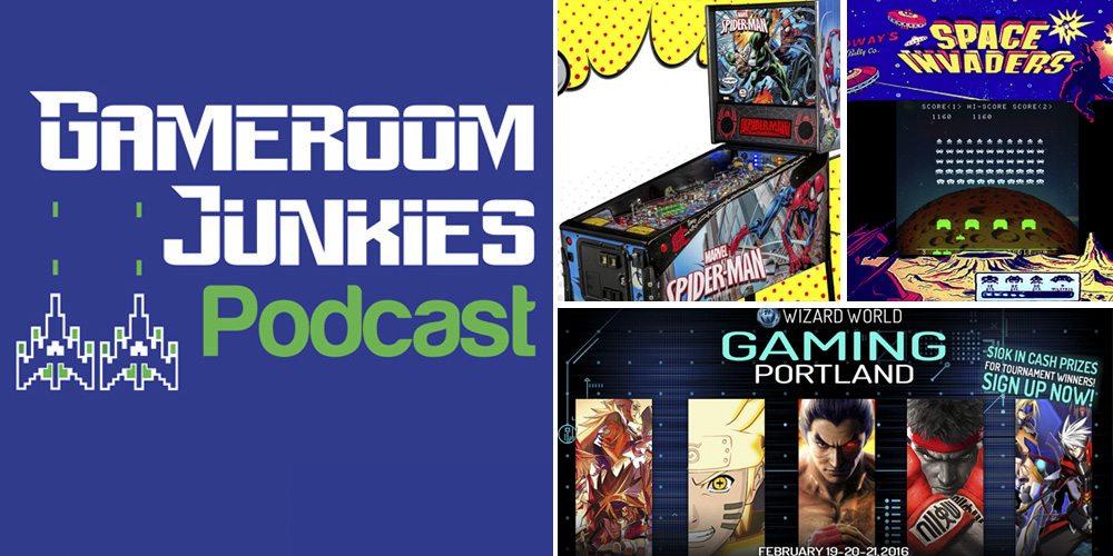 Gameroom Junkies #59: Alien Abduction & Wizard World Gaming Giveaway