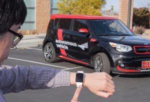 Kia Autonomous Valet Parking