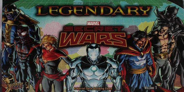 Legendary Secret Wars Box Cover Art - Photo by Gerry Tolbert