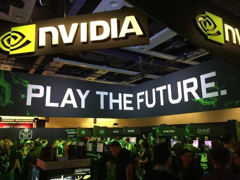 Nvida booth at PAX Prime 2015