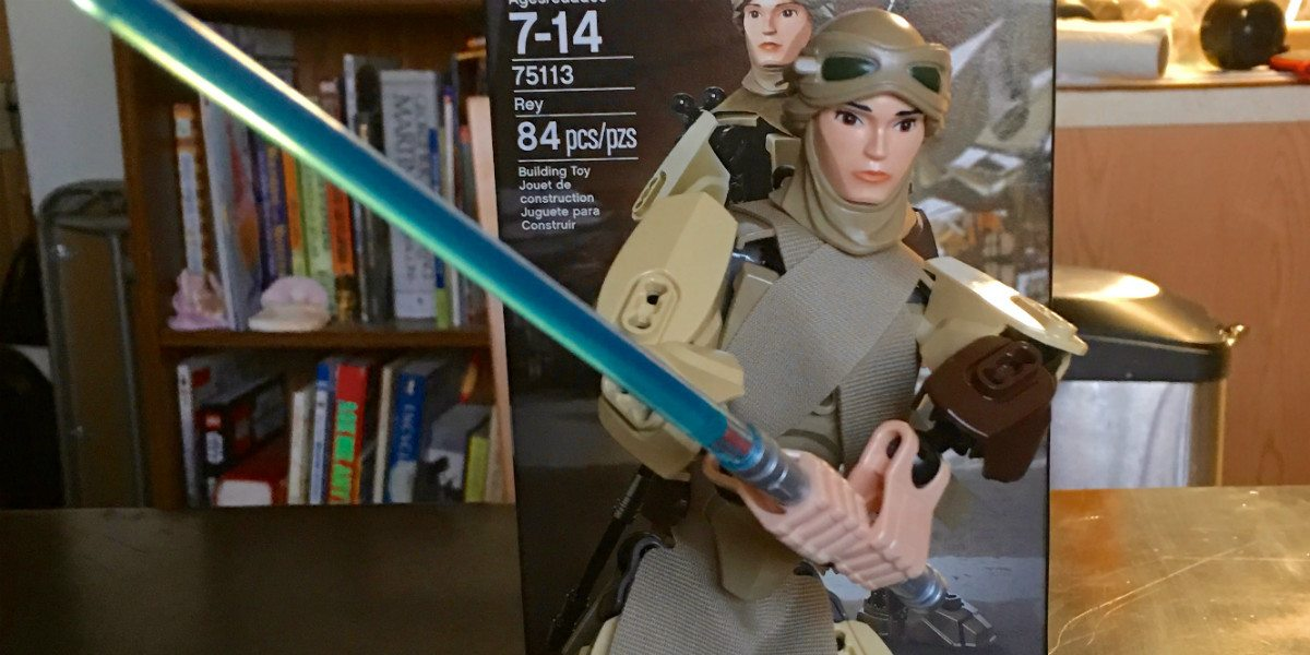 This Is the Rey Action Figure You're Looking For