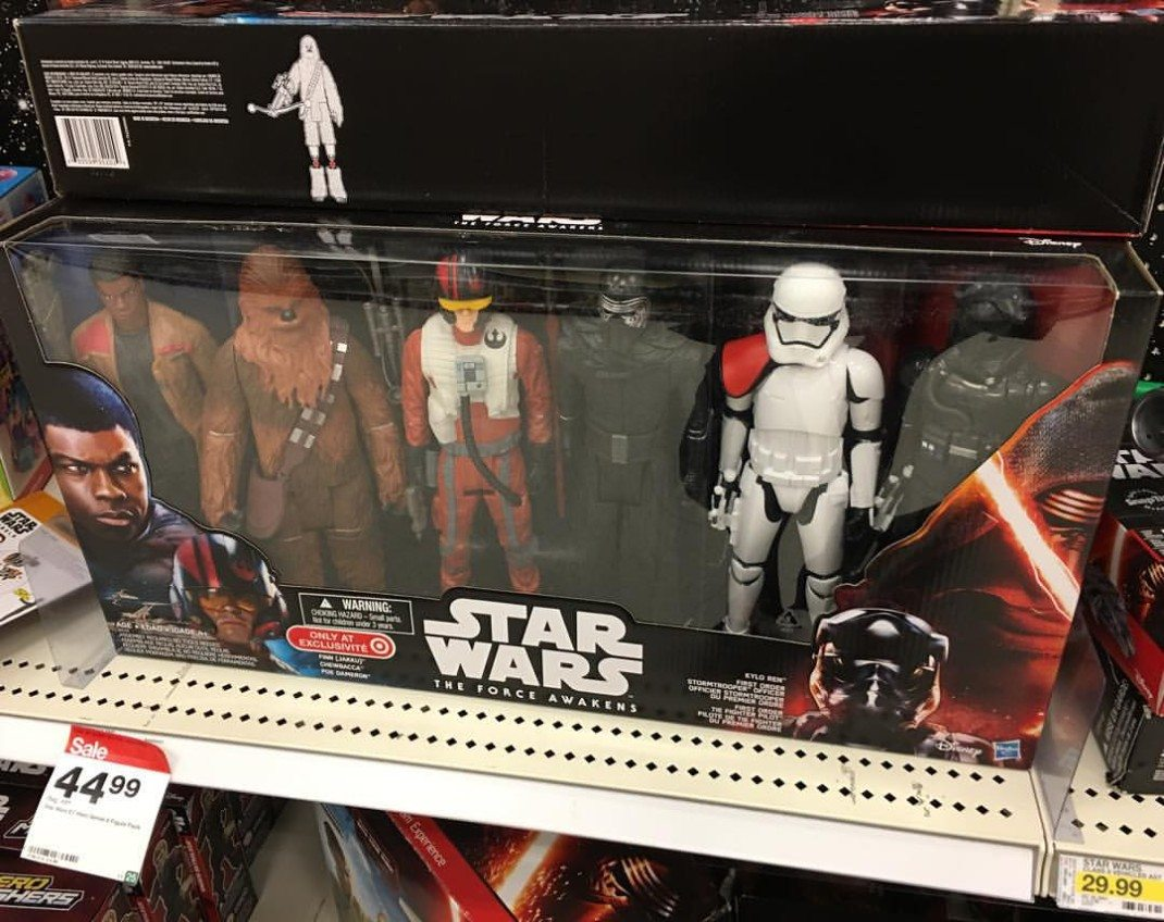 One of the toy sets that sparked the #WheresRey campaign