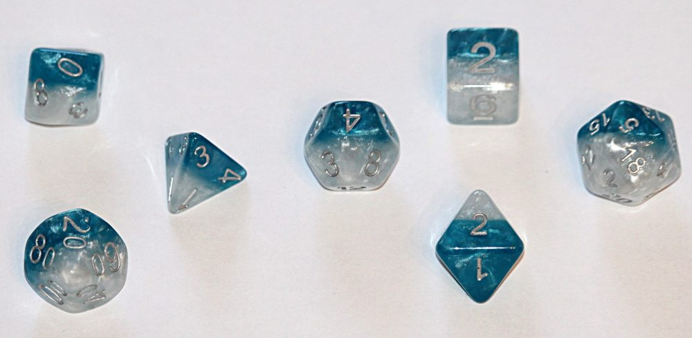 Blue Fish dice from ADAPT