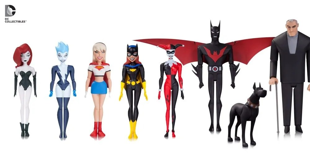 Not even HALF of the new BTAS figures announced!