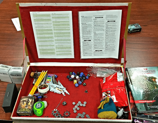 Custom Dungeon Master Screen - Plus 5-in-1 Leather AD&D Tome - GeekDad