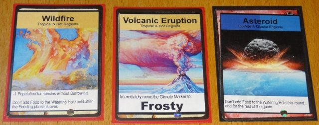 Evolution: Climate events