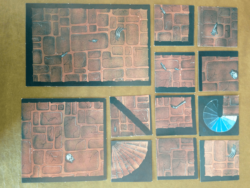 picture regarding Printable Dungeon Tiles Pdf known as Myth RPG 2D Terrain Merchandise - Further than Display - GeekDad