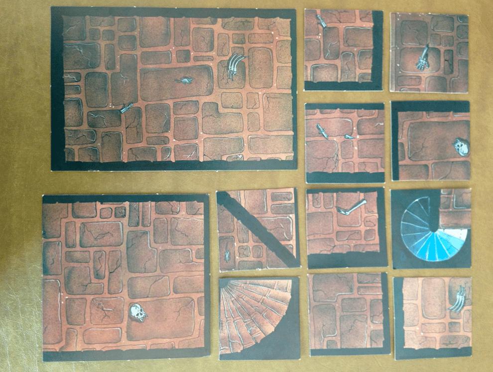 picture regarding Printable Dungeon Tiles Pdf known as Myth RPG 2D Terrain Merchandise - Further than Display - GeekDad