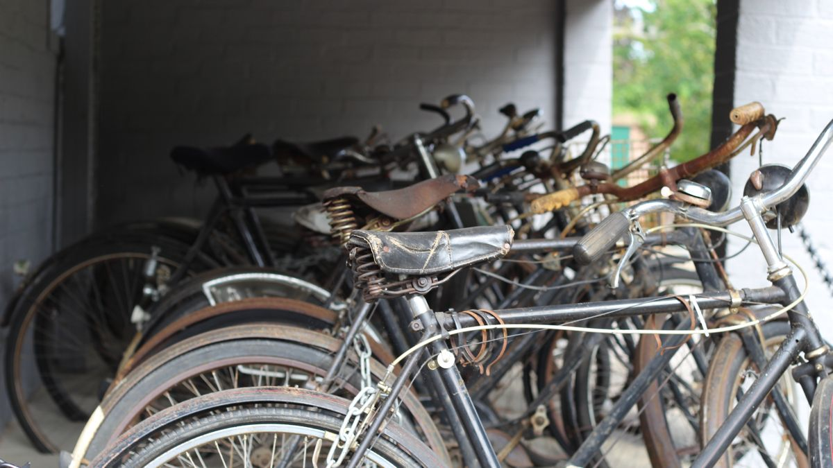 Bicycles at Bletchley Park