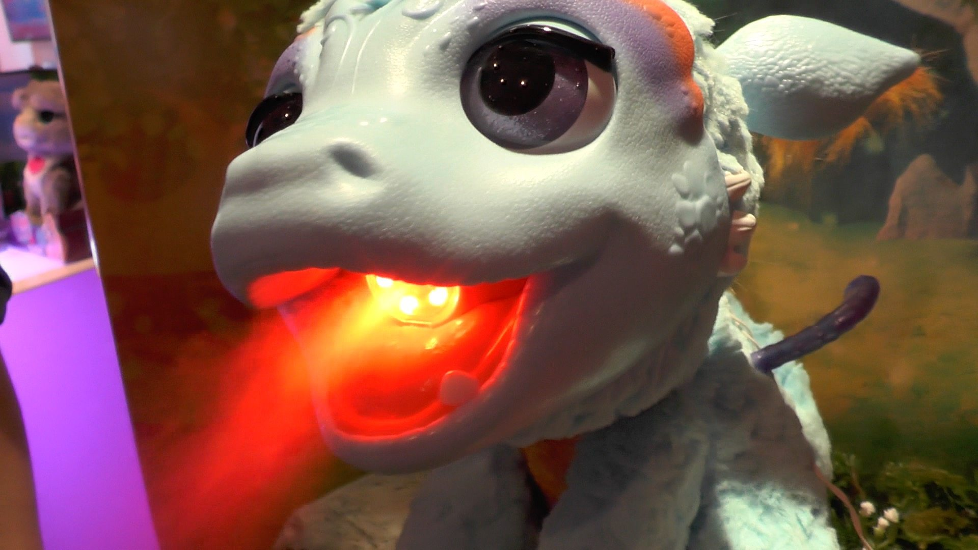 'Torch' Is Hasbro's New Animatronic Dragon, And He's Adorable