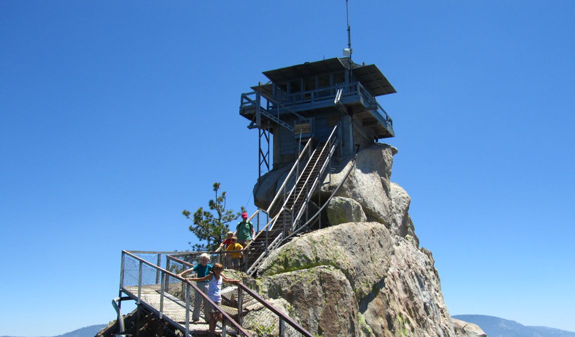 Needles Lookout Tower, Sequoia National Forest